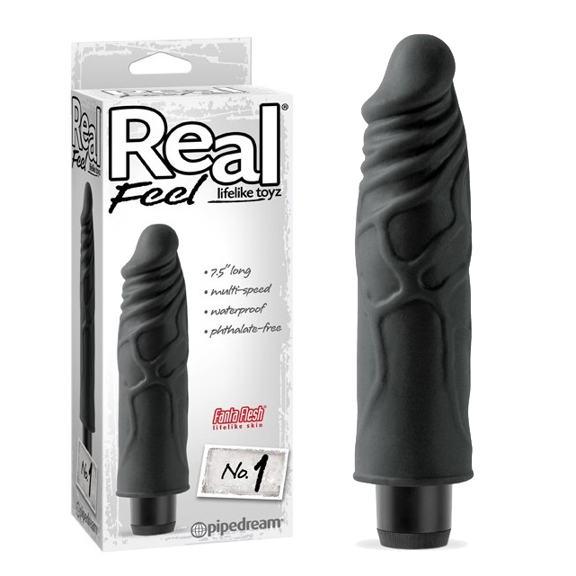 Вибратор Real Feel Lifelike Toyz No. 1 - Black